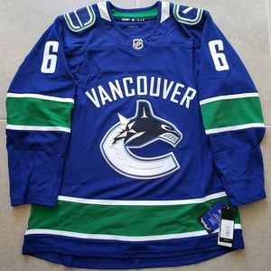 new product 160cc 740c2 Vancouver Canucks Brock Boeser NHL Adidas Jersey NWT
